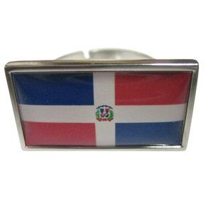 Dominican Republic Flag Fashion Ring